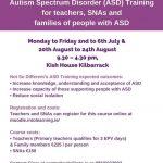 Sign up for this important training on Autism Spectrum Disorder for teachers, SN…